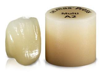 Cerâmica prensada dental