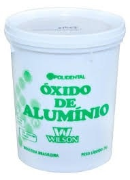 Óxido de alumínio uso odontológico